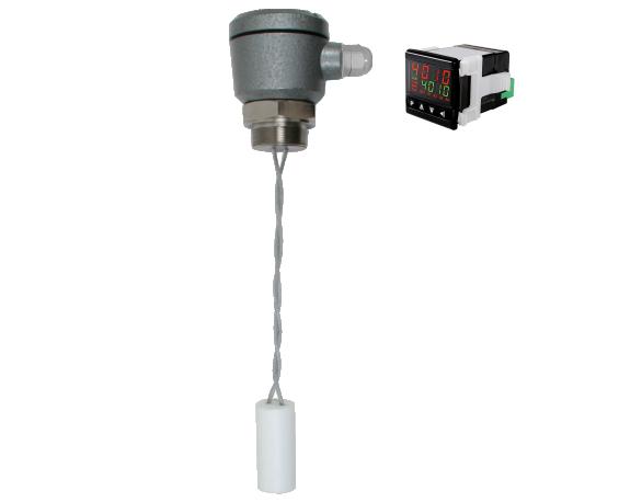 BR FMC-320CDR1 Sonda BR 21.315 / Indicador Digital Medidor de Nível Capacitivo
